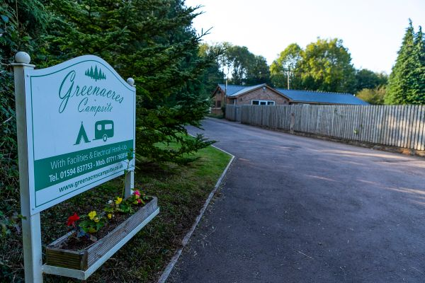 Greenacres Campsite Forest of Dean | Near Coleford & Symonds Yat